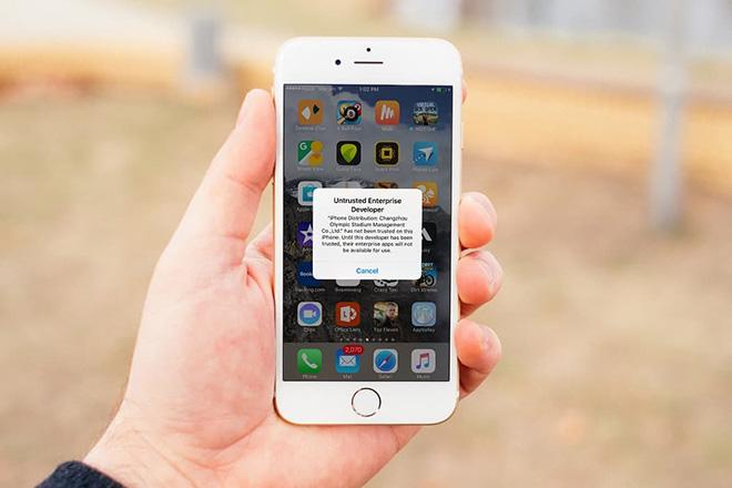 """Cách sửa lỗi ứng dụng iOS """"đột tử"""" do bị thu hồi chứng chỉ - 1"""