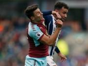 Burnley - West Brom: Bắt chước Ronaldo, dự bị ghi bàn và ăn thẻ đỏ