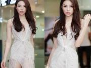 Hoa hậu Kỳ Duyên lần đầu mặc mỏng tang, khoe dáng nữ thần