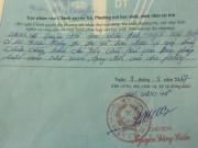 Kỷ luật chủ tịch xã vụ phê lý lịch  xấu  tại Hà Nội