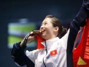 """Dương Thúy Vi:  """" Nữ hoàng """"  wushu tỏa sáng 2 HCV SEA Games 2017"""