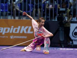 Dương Thúy Vi, cô gái vàng wushu
