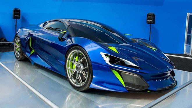 Boreas: Siêu xe Tây Ban Nha mạnh hơn 1.000 mã lực