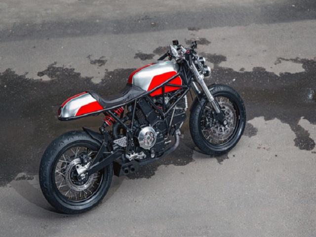 Hector Ducati Hypermotard 796: Đỉnh cao của nghề thủ công - 12