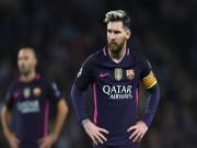 """Messi đến Manchester 300 triệu euro: Barca  """" bó tay chịu trói """""""