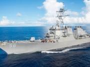 Tàu chiến Mỹ đâm tàu buôn, 10 thủy thủ hải quân mất tích