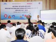 Honda Việt Nam khởi động chương trình giáo dục ATGT cho học sinh THCS 2017 - 2018