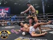 """Thể thao - Nóng: """"Thánh Muay"""" Buakaw 161 giây đấm gục nhà vô địch châu Âu"""