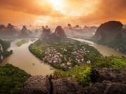 """Khám phá những thị trấn cổ  """" đẹp muốn xỉu """"  ở Trung Quốc"""