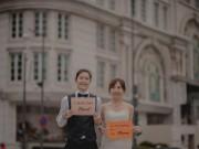 """Cần chi đi đâu xa, ở Việt Nam thôi cũng có được bộ ảnh cưới  """" cute lạc lối """""""