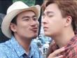 Ngô Kiến Huy rùng mình khi hôn Kiều Minh Tuấn