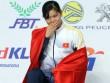 Kỷ lục gia Ánh Viên suýt khóc như mưa khi nhận HCV SEA Games