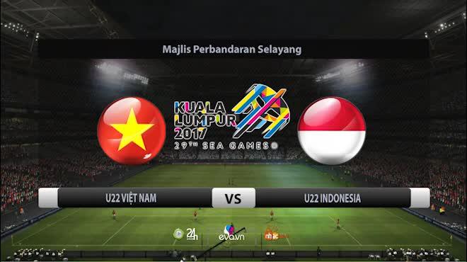 """TRỰC TIẾP U22 Indonesia - U22 Campuchia: Chờ """"mưa"""" bàn thắng"""