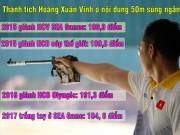 """Hoàng Xuân Vinh  """" hô mưa, gọi gió """"  Olympic, hụt hơi SEA Games 2017"""
