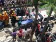 Lắp biển quảng cáo, 3 công nhân bị điện giật bỏng nặng