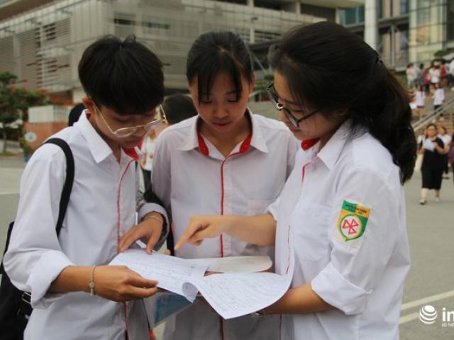 Sẽ tăng điểm liệt lên 3 và trừ điểm nếu tô sai đáp án ở kỳ thi quốc gia 2018?