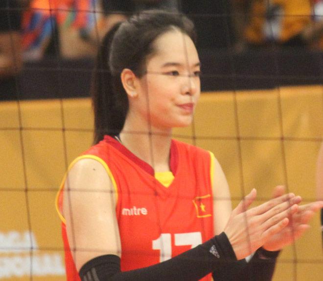 """Chân dài bóng chuyền Việt Nam """"nhảy múa"""" đè bẹp chủ nhà SEA Games - 13"""