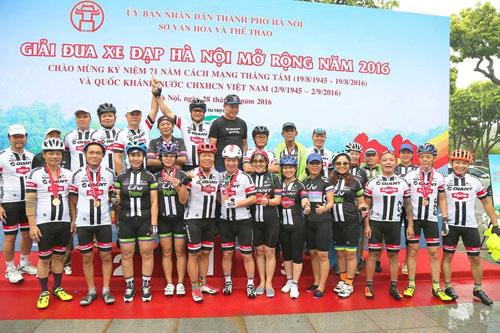 GIANT Việt Nam đồng hành cùng giải đua xe đạp Hà Nội mở rộng lần thứ IV 2017 - 1