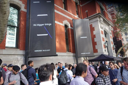 TRỰC TIẾP: Samsung giới thiệu Galaxy Note8 trên sâu khấu 3D cực đẹp mắt - 14