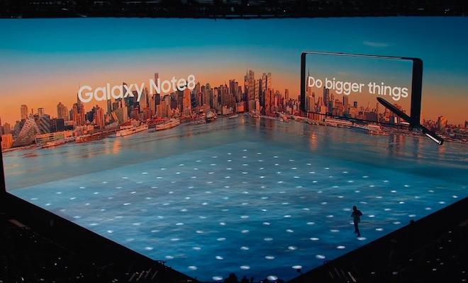 TRỰC TIẾP: Samsung giới thiệu Galaxy Note8 trên sâu khấu 3D cực đẹp mắt - 9