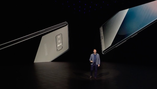 TRỰC TIẾP: Samsung giới thiệu Galaxy Note8 trên sâu khấu 3D cực đẹp mắt - 4