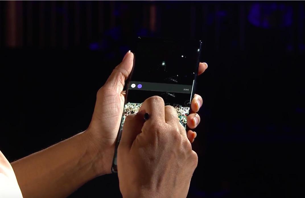 """TRỰC TIẾP: Samsung đang giới thiệu Galaxy Note8 """"đỉnh của đỉnh"""" - 6"""