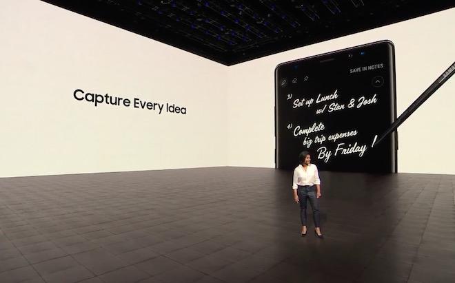 """TRỰC TIẾP: Samsung đang giới thiệu Galaxy Note8 """"đỉnh của đỉnh"""" - 5"""