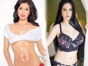 """4 mỹ nữ lai khêu gợi  """" dám cởi """"  trên tạp chí đàn ông Philippines"""