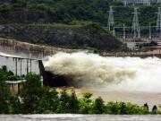 Bão số 6 gây mưa to ở miền Bắc, các hồ thủy điện tức tốc xả lũ