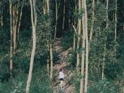 """Nghỉ lễ 2/9, đưa nhau đi trốn ở  """" hoang đảo """"  xanh mướt chỉ cách Hà Nội 100km"""