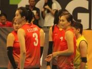 Chân dài bóng chuyền Việt Nam  nhảy múa  đè bẹp chủ nhà SEA Games