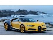 Ngắm vẻ độc đáo của Bugatti Chiron đầu tiên đến đất Mỹ