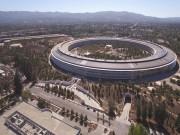 Công nghệ thông tin - Chiêm ngưỡng trụ sở mới hình phi thuyền siêu đẹp của Apple