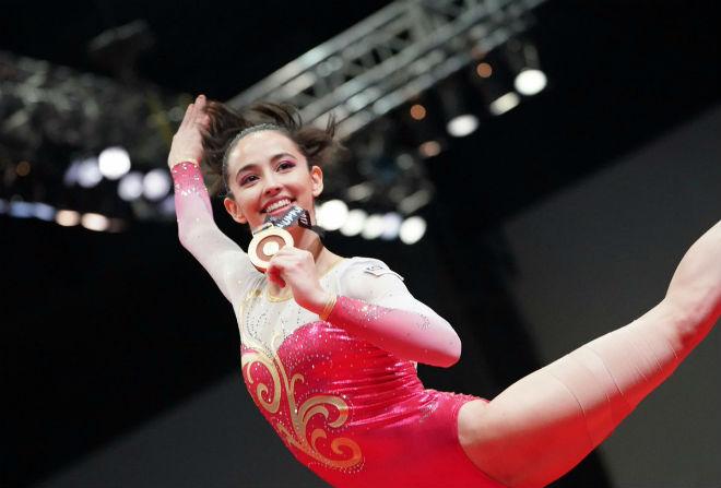 Nữ thần thể dục đẹp nhất SEA Games: Giật HCV nhờ bánh socola