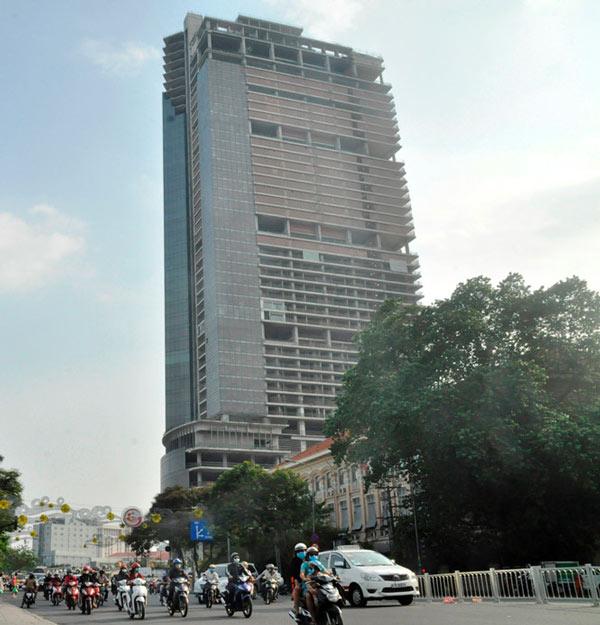 """Cao ốc Saigon One Tower: Từ biểu tượng tới... """"con nợ nghìn tỷ"""" - 1"""