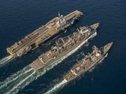 Hé lộ sức mạnh tàu sân bay 40.000 tấn của hải quân Nga