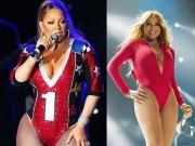 Trang phục dễ gây  tắc thở  của diva Mariah Carey