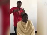 Clip: Màn cắt tóc căng thẳng nhất của loài người