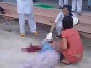 Người phụ nữ bất ngờ nhảy từ tầng 4 bệnh viện xuống đất