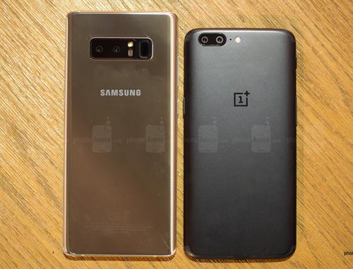 """Samsung Galaxy Note8 """"tranh tài"""" cùng OnePlus 5 - 2"""