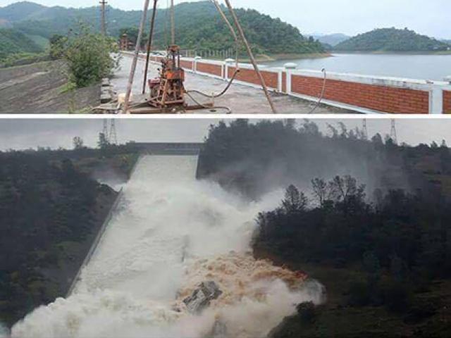 Thông tin vỡ đập Hồ Núi Cốc là hoàn toàn bịa đặt