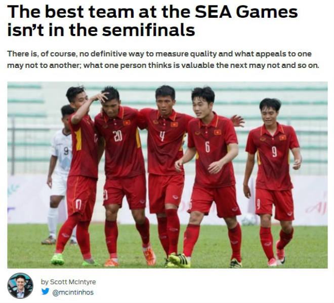"""Báo châu Á """"khóc"""" U22 Việt Nam: Bán kết SEA Games vắng đội mạnh nhất"""