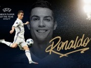 """Bóng đá - Cầu thủ hay nhất châu Âu: Ronaldo áp đảo Messi, lập """"hattrick"""""""