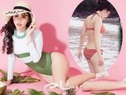 Thời trang - 3 kiều nữ Việt có vòng 3 gần 1 mét gây chú ý khi thi hoa hậu