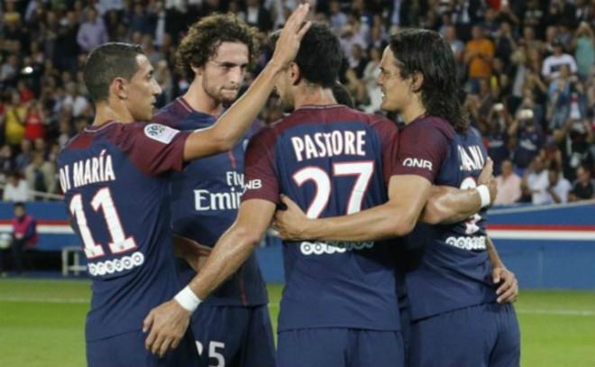 Video, kết quả bóng đá PSG - St Etienne: Giao chiến nảy lửa, bàn thắng như mưa - 1