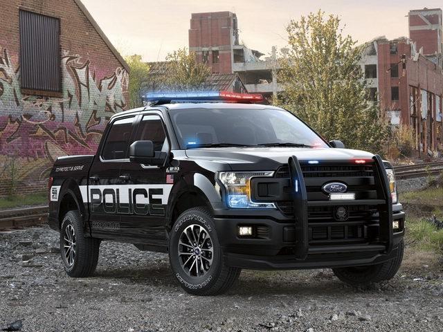 Ford F-150 Police Responder: Bán tải cho cảnh sát - 1