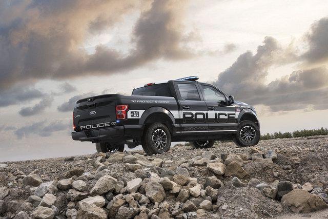 Ford F-150 Police Responder: Bán tải cho cảnh sát - 2