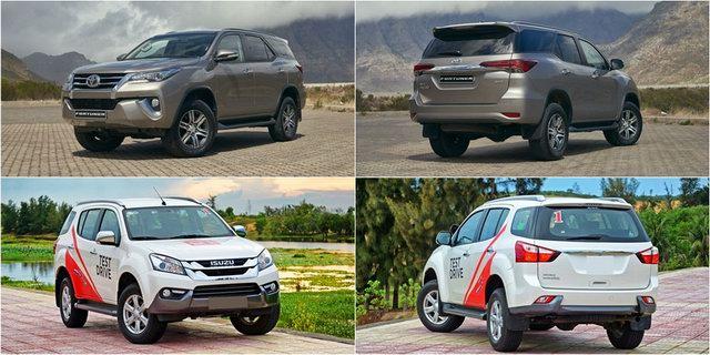 1 tỷ đồng nên mua Toyota Fortuner hay Isuzu mu-X? - 1