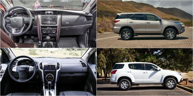 1 tỷ đồng nên mua Toyota Fortuner hay Isuzu mu-X? - 2