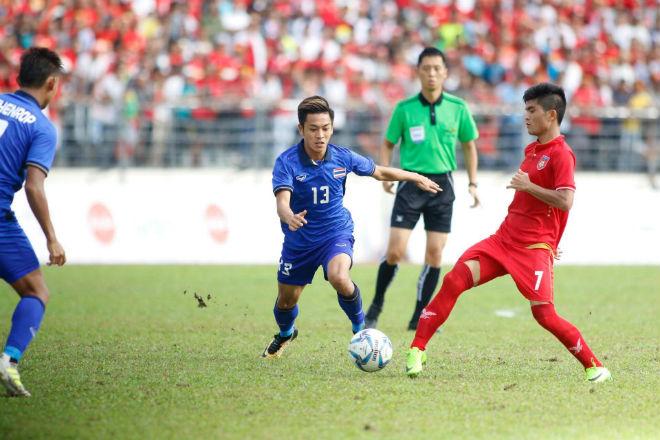 U22 Thái Lan - U22 Myanmar: Bàn thắng vàng phút bù giờ